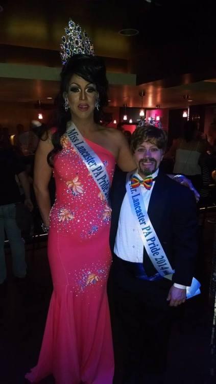 Mr. & Mrs. Lancaster, PA Pride 2014